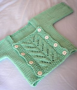 knit cardi for baby