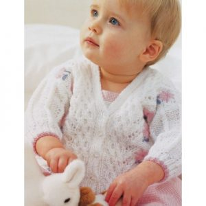 pretty-lace-baby-cardigan-knitting-pattern
