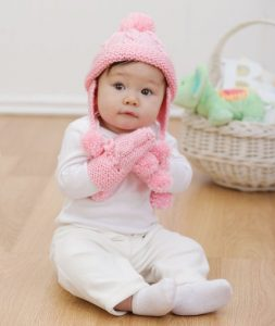 baby sets knitting patterns free hat and mitts