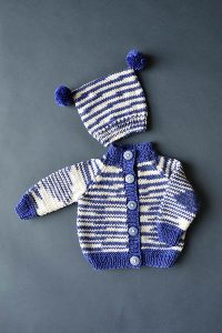 The Best 15 Baby Sets Knitting Patterns Free - Free Baby Knitting