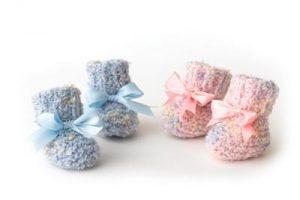 2-needle-baby-booties-pattern