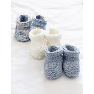 knitted booties free patterns for baby