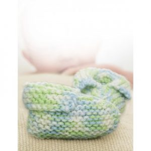 baby booties knitting pattern free