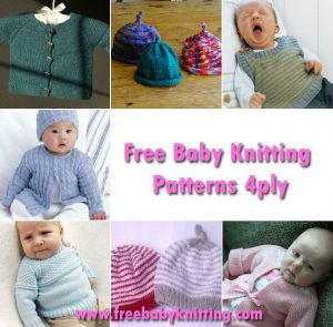 Free Baby Knitting Patterns 4ply