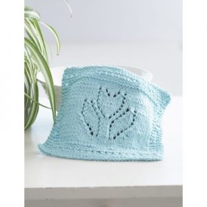 tullip baby washcloth knitting pattern free