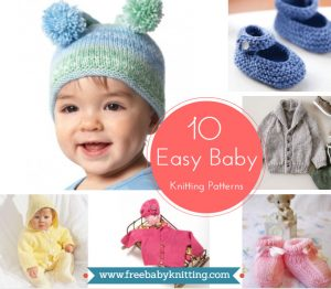 10 Easy Baby Knitting Patterns