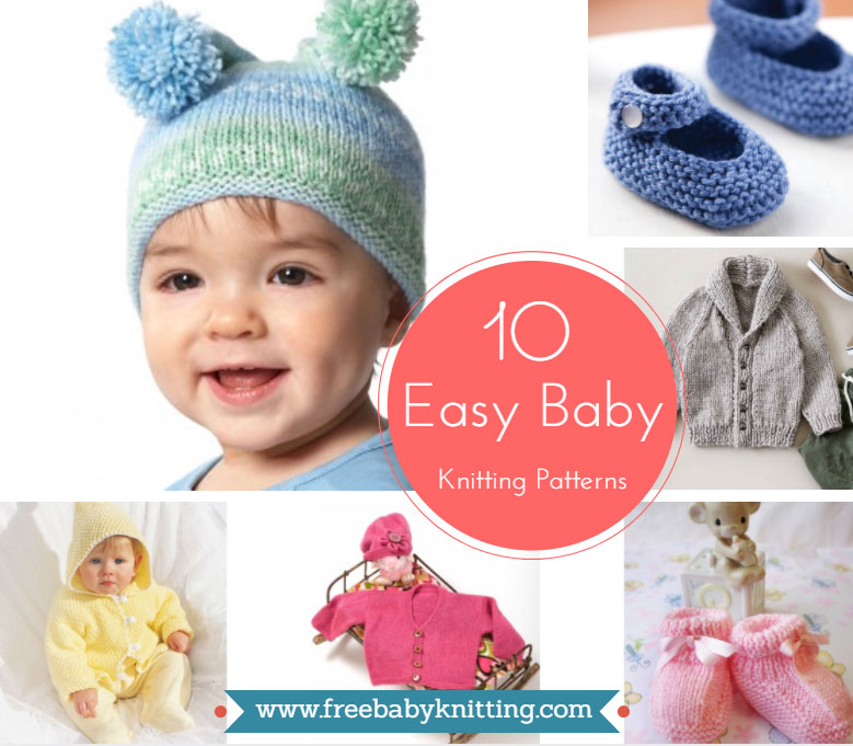10 Easy Baby Knitting Patterns You Cant Resist Trying