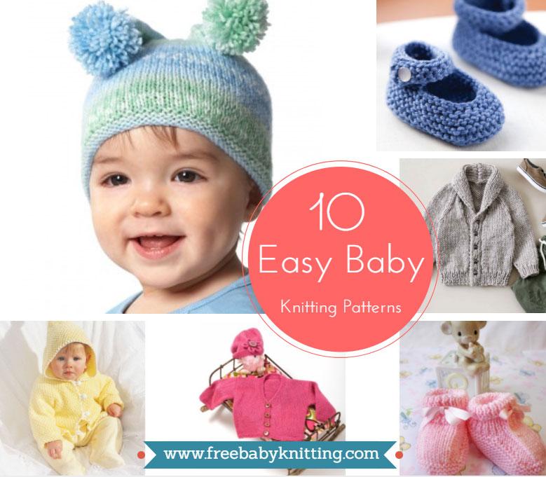 10 Easy Baby Knitting Patterns