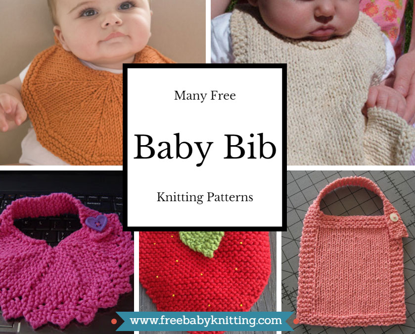 Free Baby Bib Knitting Patterns