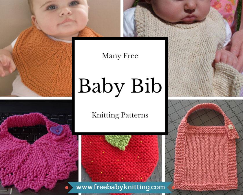 Free Baby Bib Knitting Patterns