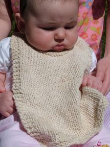 Baby Bib Knitting Patterns