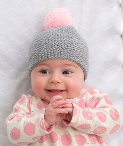 Newborn Cozy Cap Free Knit Pattern