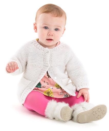 Year-Round Baby Cardigan Baby Knit