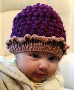 Baby Tart Free Bobble Hat Knitting Pattern
