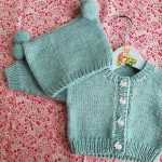 Back to Basics Baby Cardi Free Knitting Pattern