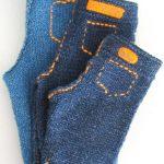 Blu Jeans Baby Pants Free Knitting Pattern