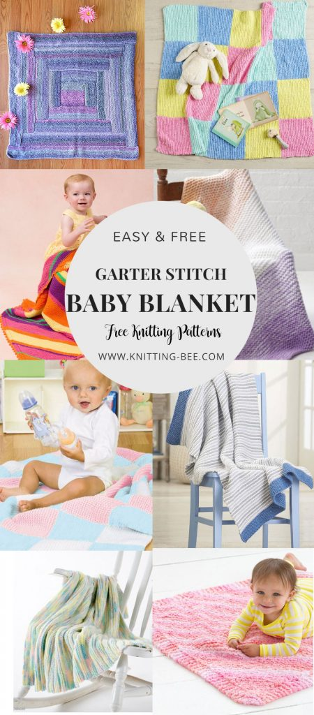 easy and free baby blanket knitting patterns