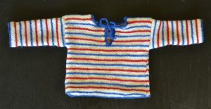 Free Baby Cardigan Knitting Patterns Pippi Longstocking Style