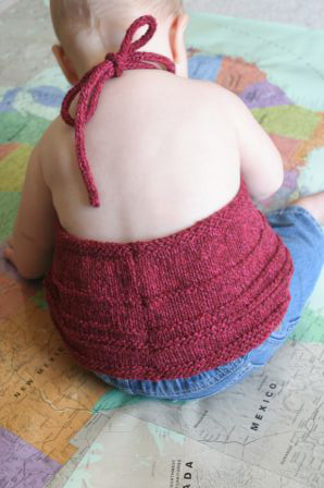 Katja Baby Summer Top Free Knitting Pattern