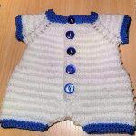 Kinzie Baby Romper Free Knitting Pattern