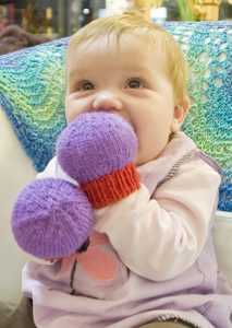 Knit Mittens for Baby free pattern for preemie to newborn to 6 months