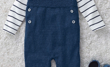 Knitted dungarees for babies free knitting pattern