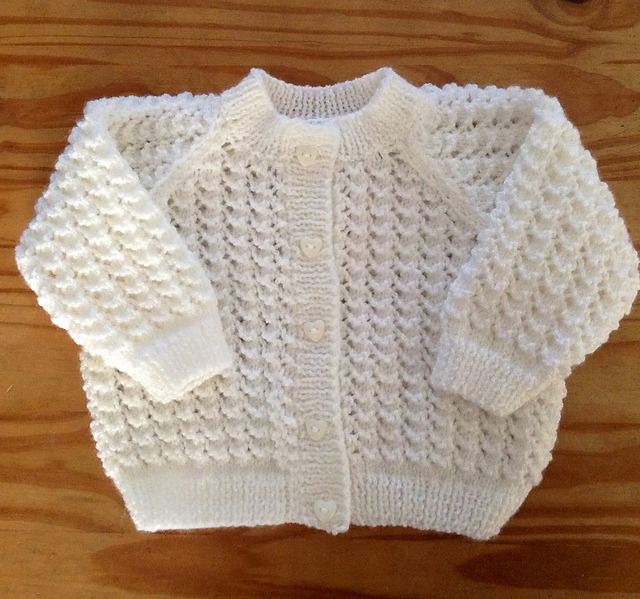 Lace Baby Cardigans Archives - Free Baby Knitting