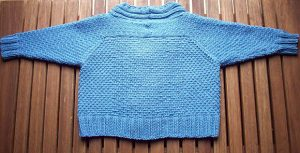 L'illo Baby Jacket Pattern to Knit for Boys