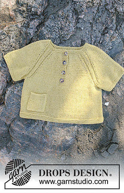 Lucky Ducky Baby Top Knit Pattern