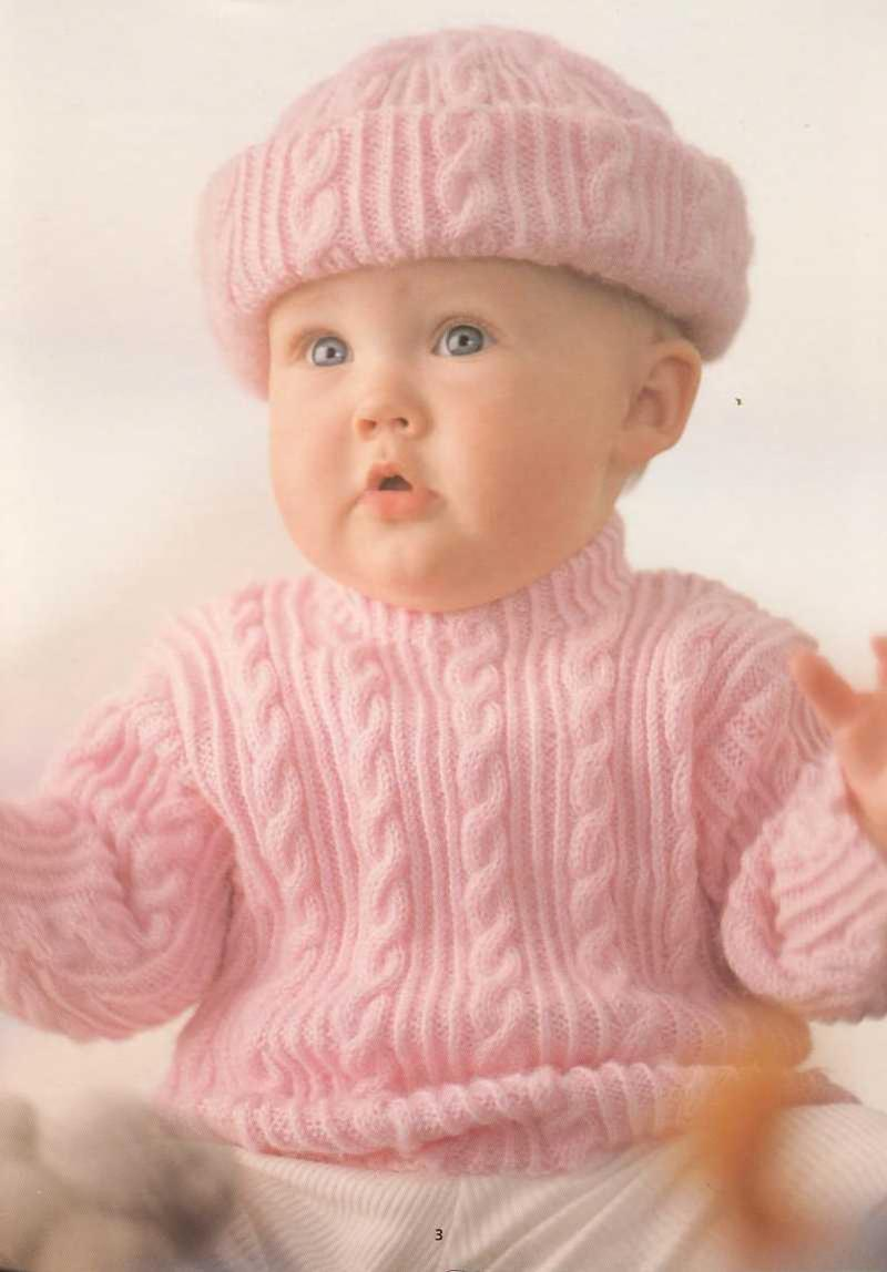 Patons Little Angels Baby Cardigan Free Knit Pattern Booklet - Free ...