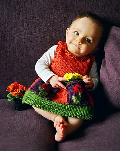 Anouk Baby Dress Knitting Pattern Free