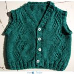 Baby Vest Free Knitting Pattern for Babies