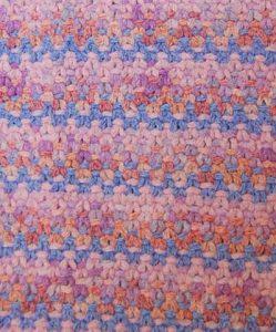 Easy Slip Stitch Baby Blanket Knitting Pattern Free