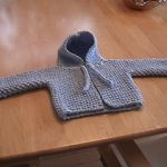 Fran's Hooded Baby Sweater Free Knitting Pattern