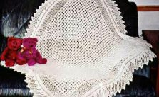 Free Loop Baby Blanket Knitting Pattern
