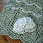 Organic Baby Wrapper Free Knit Pattern for Hat and Blanket