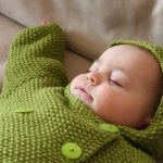 Seed Stitch Baby Jacket Free Knitting Pattern