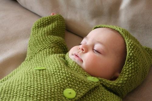 Seed Stitch Baby Jacket Free Knitting Pattern