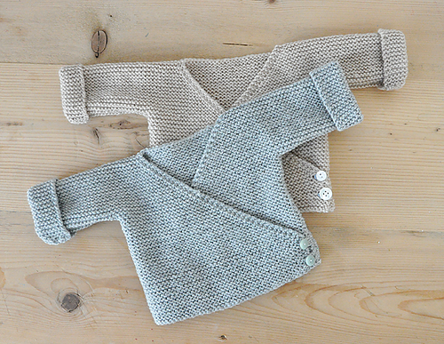 Only Garter Stitch Cardigans for Baby!