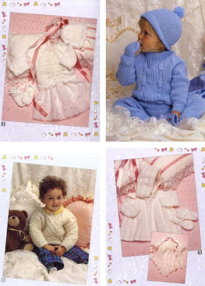 baby knitting patterns for sets