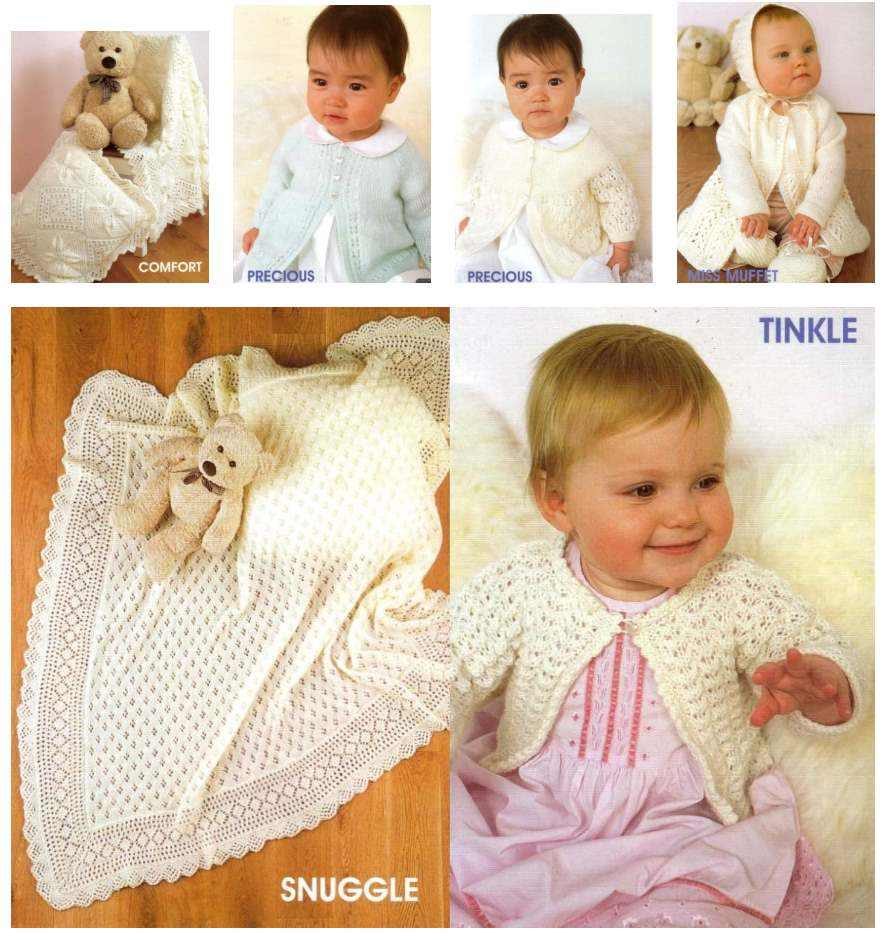 Patons Baby World Knitting Patterns