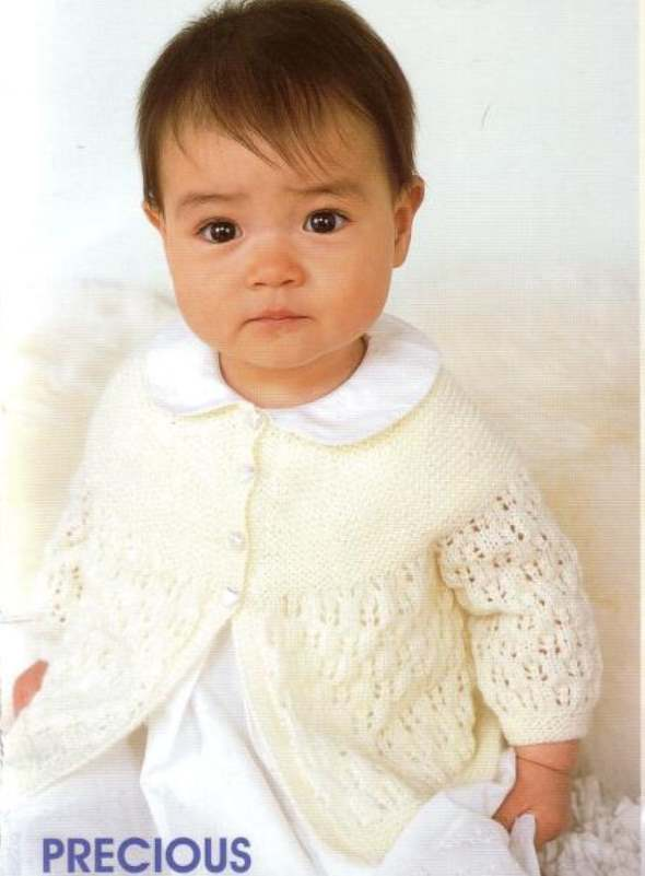 Patons baby jacket knitting pattern