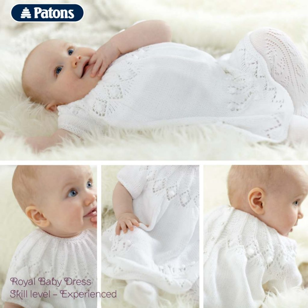 Patons Royal Baby Dress