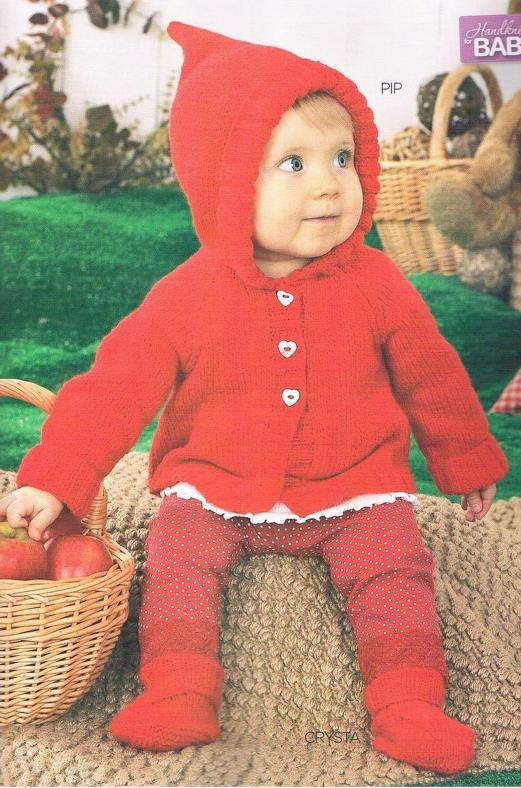 baby hoodie knitting pattern with matching booties