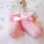 Patons booties free knitting pattern