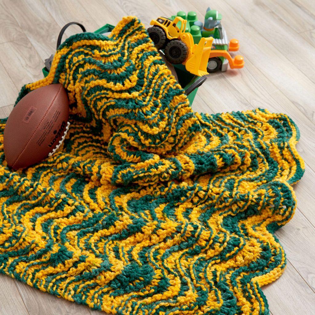4 Row Repeat Baby Blanket