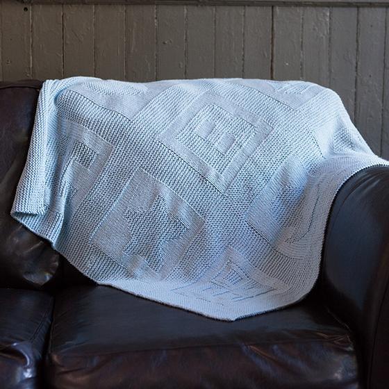 Free ABC Block Baby Blanket Knitting Patterns
