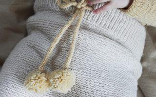 Free Baby Knitting Pattern for Garter Stitch Leggings