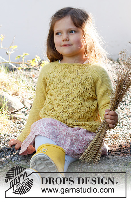 Free Knit Pattern for Marigold Baby Sweater