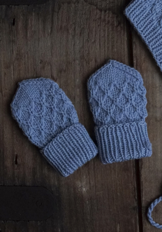 Free Knitting Pattern for Baby Mittens
